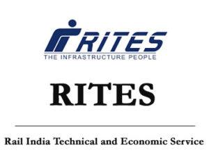 RITES Notification 2021